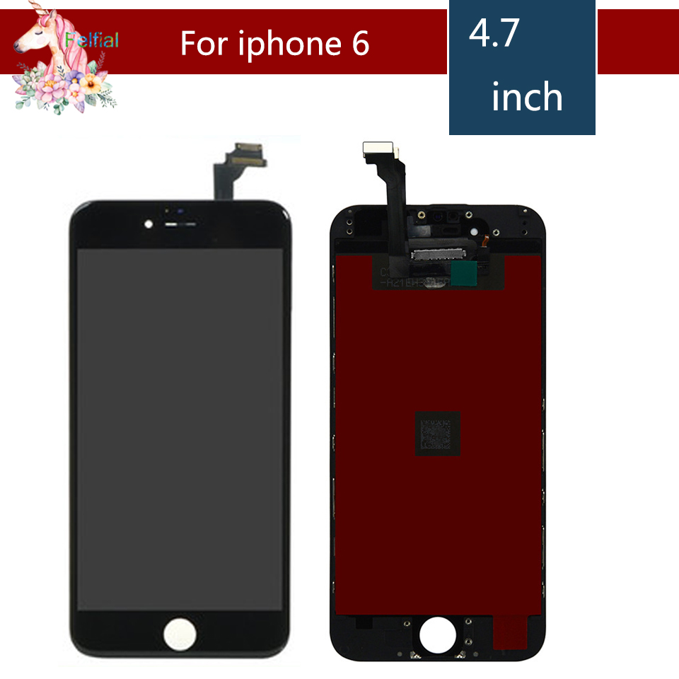 10pcs/lot Touch Display For iPhone 6 and iPhone 6S LCD Screen for iPhone 6 6G 6S LCD Display Touch Screen Digitizer Replacement image