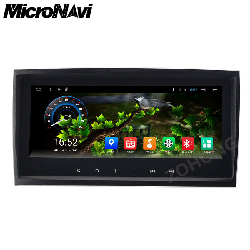Buy micronavi 9inch android 6 0 car for Mercedes benz app for android
