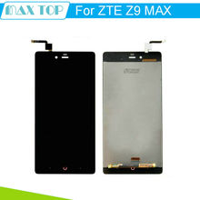Black For ZTE Nubia Z9 Max NX510J NX512J  LCD Display Touch Digitizer Screen Sensor Assembly  Replacement Parts