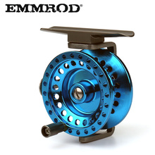 All metal EMMROD Ice fishing wheel Fly Reel AT50 1:1 Lightweight vessel Fish line Raft