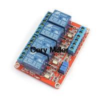 DC24V 4-kanal-high-speed-schnittstelle Low Level Auslöserelaismodul Board w Opto-Isolator