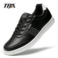 TBA Winter Men S Sneakers Breathable Leather Skateboarding Shoes Vintage Tenni Sport Skateboard Sneakers Men S