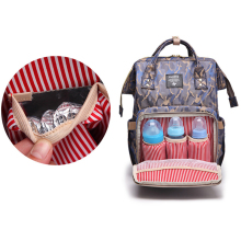 Multifunction Large-Capacity Camouflage Waterproof Diaper Bag