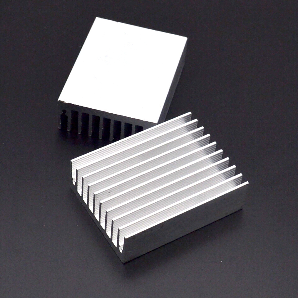 Image 4 - 1pcs Heat sink 60 * 45 * 18MM (silver) high quality radiator-in Fans & Cooling from Computer & Office