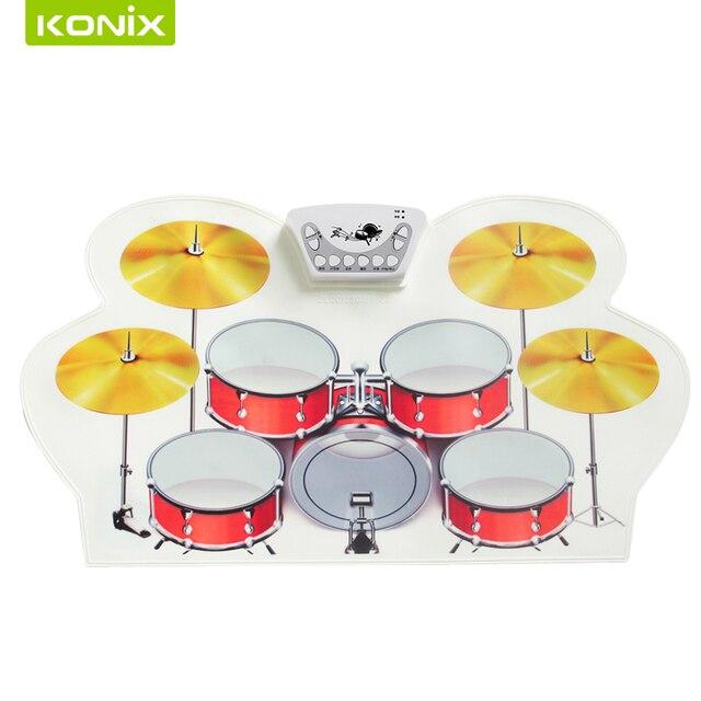 le meilleur electrique tambour ensemble avec silicone tambour pad
