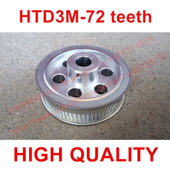 5pcs HTD 3M Timing Pulley 72 teeth Bore 12mm 5mm ~16mm fit belt width 15mm for CNC machines laser machine engraving High quality