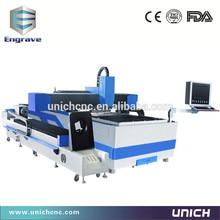 Good character High steady 500W 1200W 2000W cnc fiber laser cutting machine
