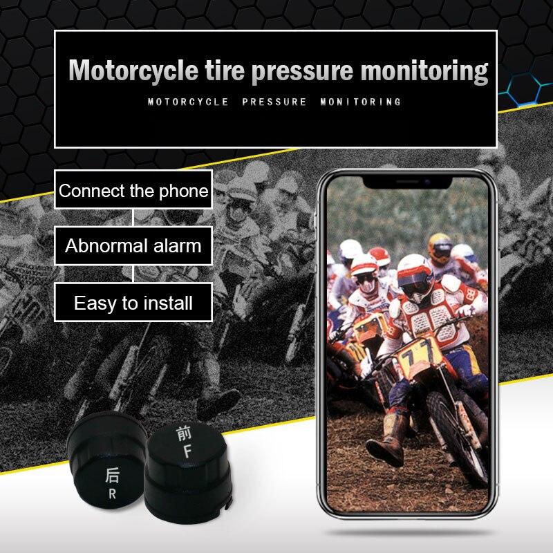 Système d'alarme de pression des pneus de voiture TPMS jauge de surveillance Bluetooth APP affichage des capteurs externes de pneus M8617