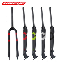 New Ullicyc 26 /27.5Inch Mountain Bike Full Carbon Fibre Bicycle Front Forks Disc Brake MTB 28.6mm 1 1/8 Tube QC525