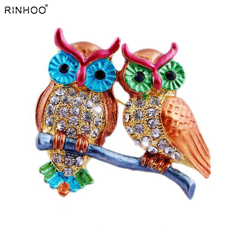 Wild Animal Brooch Enamel Brooches for women brooch pins crystal brooches wedding Jewelry best special gift