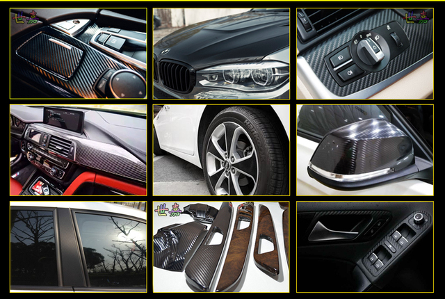 Car interior film matt plating ice film color film barrier in the control instrument panel change decorative stickers-130