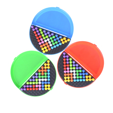 Brain Teaser Toys Pyramid Beads Puzzle Classical Logical Mind Game Plate IQ Pearl For Children High Quality