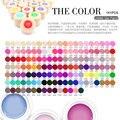 CANNI 141 Colors Gel Paint Solid Pure Glitter UV Soak Off Gel Builder Gel Nail Art False Tips Decoration