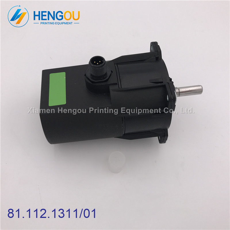 2 pieces lastest 81.112.1311/01 motor for CD102 SM102 heidelberg machine, heidelberg printing machinery parts 2 pieces heidelberg cd102 sm102 water roller gear shaft s9 030 210f with 44 theeths heidelberg printing parts