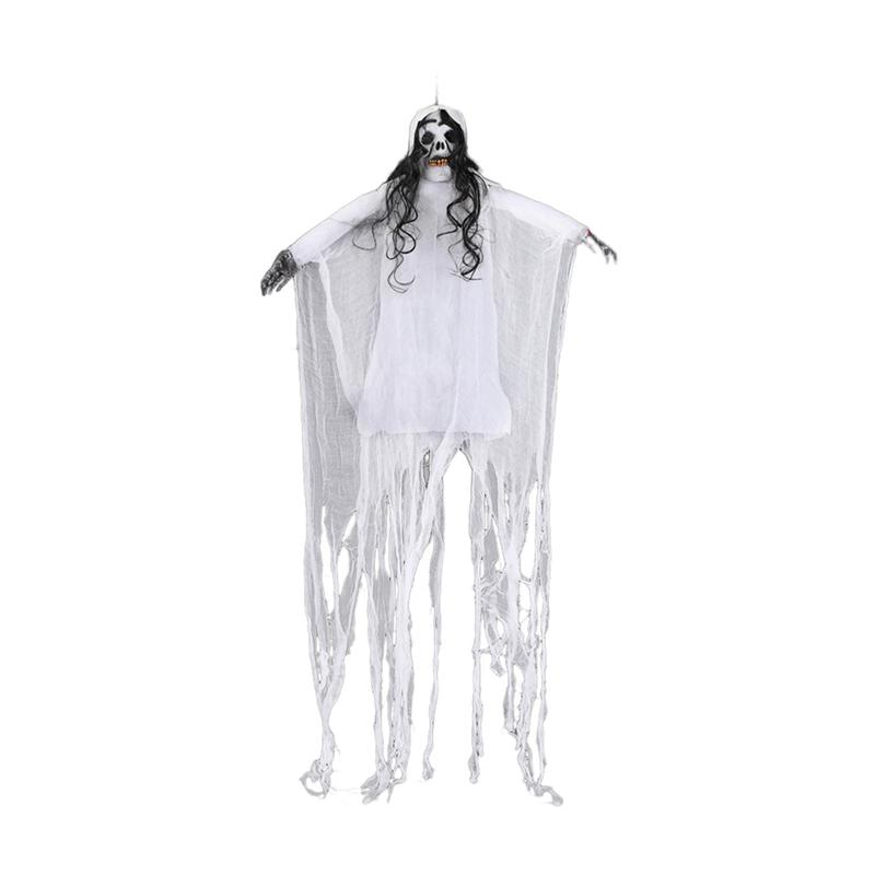 1PC Creepy Hanging Scary Skull Skeleton Ghost Haunted