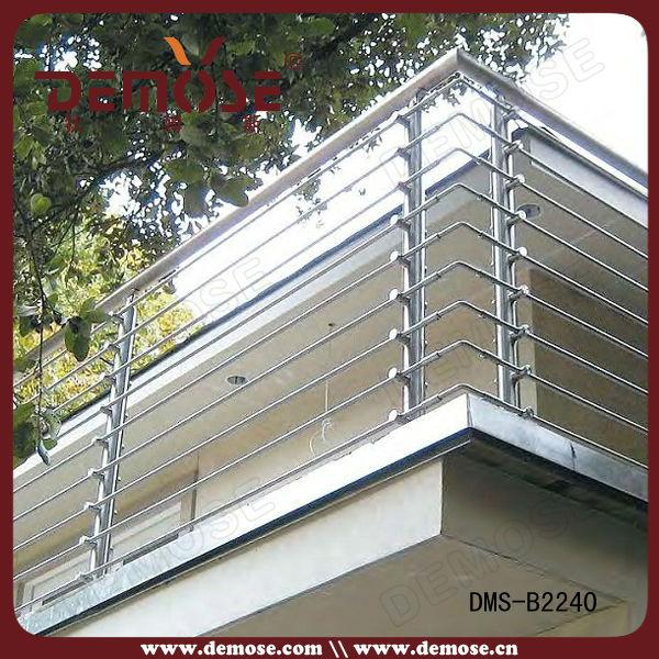 China Cheap Prefabricated Stainless Steel Handrails Railings Price | Stainless Steel Handrails Price | Balcony Railing Designs | Modern Balcony | Wrought Iron | Staircase Handrail | Steel Staircase Railing