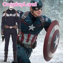 2019 Avengers 4 Endgame Hot New Marvel Movie Captain America Adult Cosplay Costume Men Sets Halloween Cosplay Costume Superhero