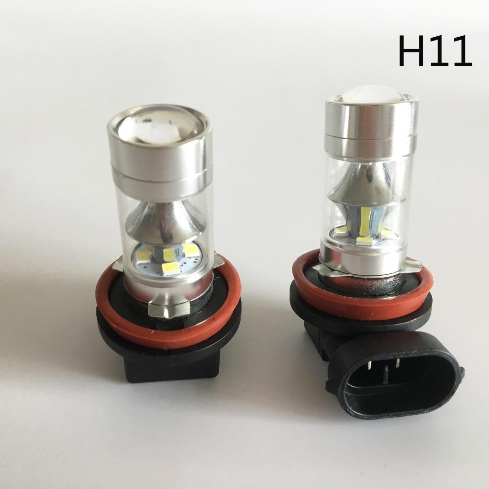 Plug & Play 60W H7 LED luči za meglo avtomobila H11 H8 H9 9005 HB3 - Avtomobilske luči - Fotografija 5