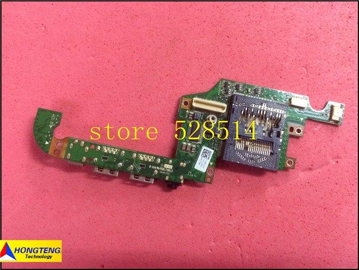 ФОТО Original FOR Dell XPS 18 1810 Left-side DC Power Jack Audio IO USB Circuit Board (0MGYG9) cn-0mgyg9 MGYG9 100% Test ok
