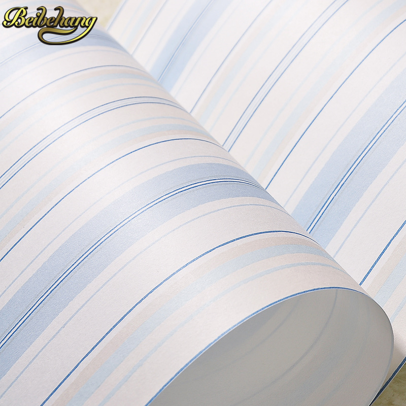 beibehang stripes Mediterranean papel de parede 3d Wallpaper for walls 3 d 3d room wallpaper roll wall paper papel parede