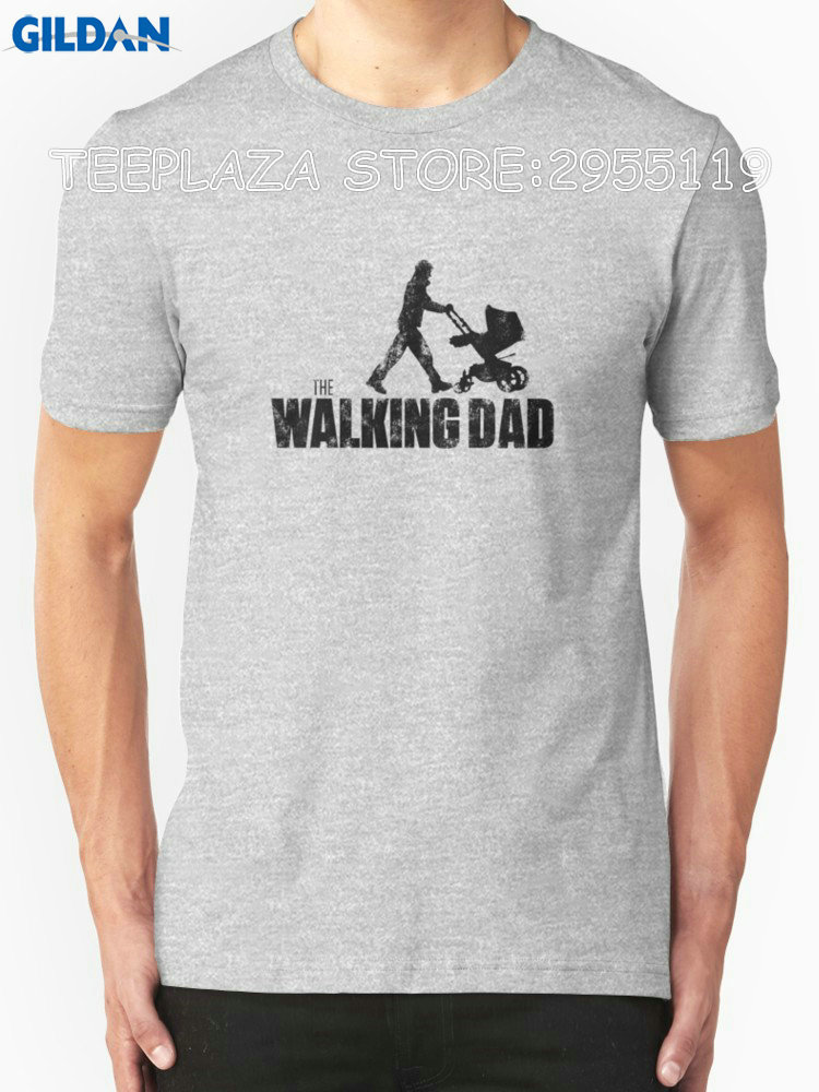 Teeplaza Shop Shirts Crew Neck Short Sleeve Office The Walking Dad Tee For Men