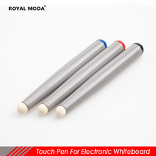 touch pen for Infrared interactive electronic whiteboard stylus TV touch screen pen felt head touch pen for multimedia classroom genuine quality finger touch cheap interactive whiteboard school smart board for teaching meeting training center