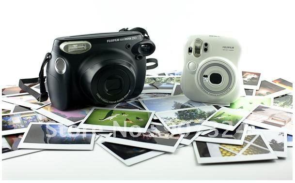 Free Shipping 5pcs Lot Fuji Instax 210 Wide White Edge Film 20pcs Box