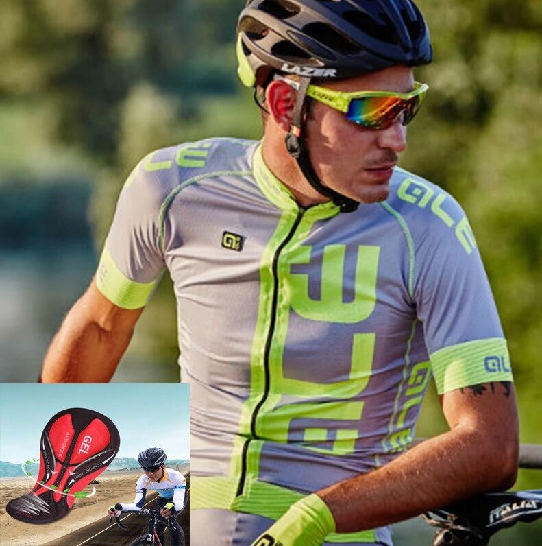 Prix pour ALE Vélo Jersey 100% Polyester Respirant Vélo Vêtements À Manches Courtes Maillot Ciclismo/À Séchage Rapide Montagne Vélo Vêtements