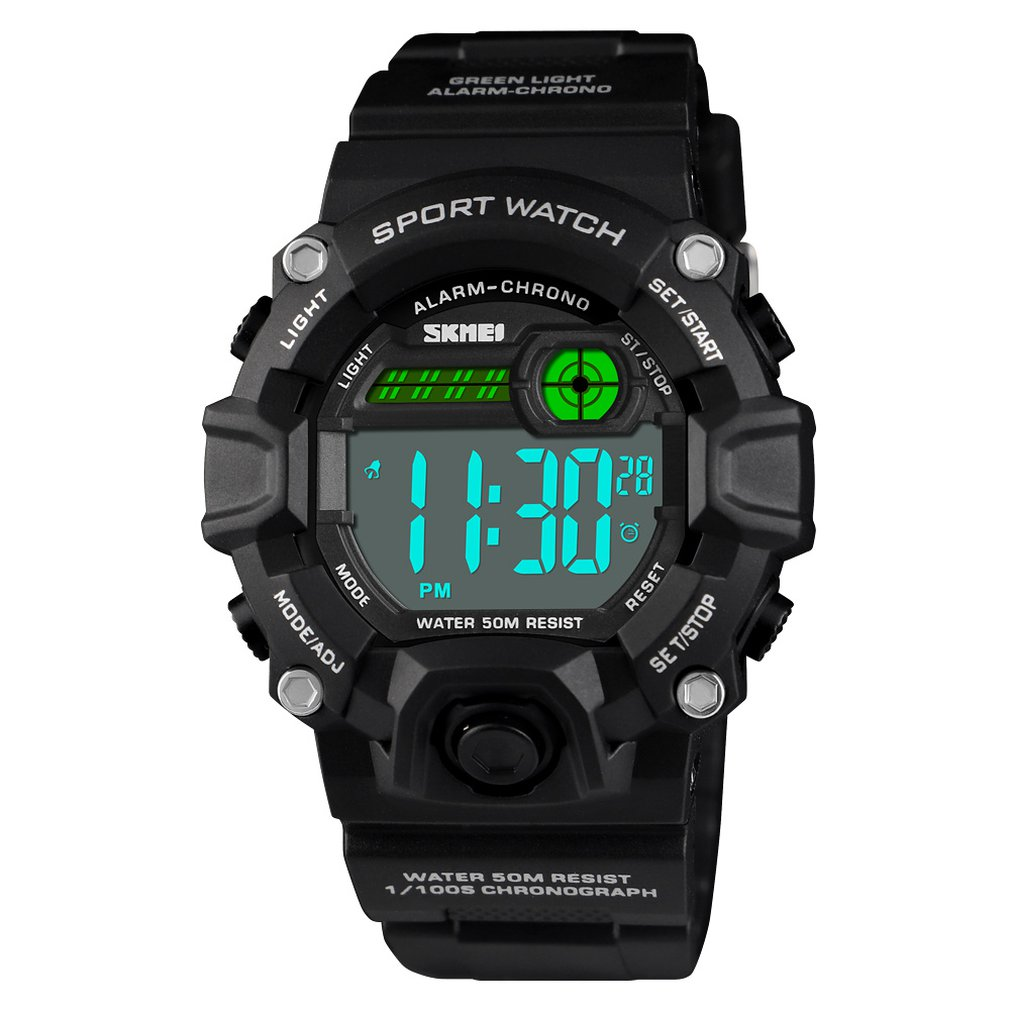 SKMEI Watches Kids Gift For Age 4-12 Years Old Waterproof Swimming Frozen Sports Watch Boys Girls Led Digital Watches For Kids