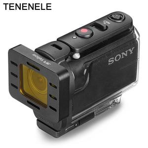 Image 5 - Eylem Kamera Filtresi Sony HDR AS50 AS300 AS300R Polarize UV ND Filtreler Sony MPK UWH1 Su Geçirmez Dalış Konut Case