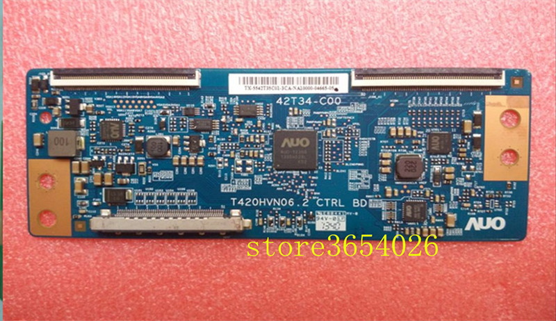 Free Shipping  Original T-con 42T34-C00 T420HVN06.2 CTRL BD 42T34-COO For Screen T420HVF06.0