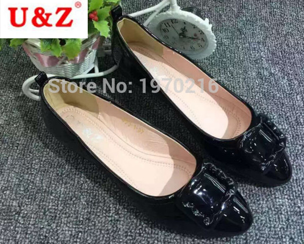 New 2017 fashion Pregnant Women Shoes Work Shoes Flats(Red/Black/Beige)Loafers Slip On Flat Shoes Square buckle boat shoes  women shoes women ballet flats shoes for work flats sweet loafers slip on women s pregnant flat shoes oversize boat shoes d35m25