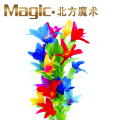 magic tricks can into flower only flower whitout cane  free shipping