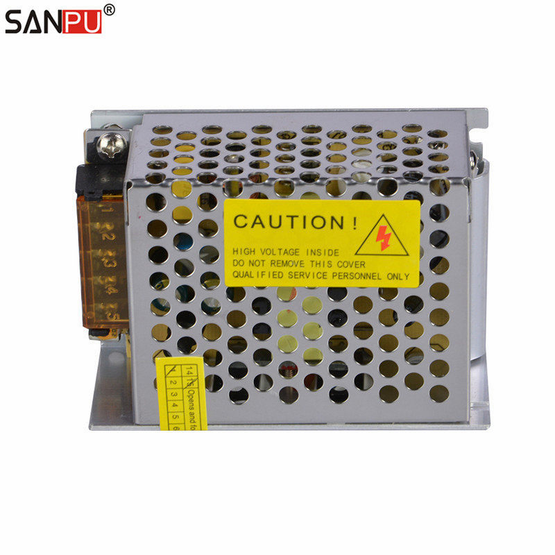 SANPU SMPS 12V DC Switching Power Supply 60W 5A Constant Voltage Single Output AC DC Transformer 60w transformer 10 60w dimmable electronic transformer 230 240v ac lightech let 60 wiring diagram at fashall.co