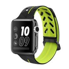 mu sen Sports silicone Band For Apple watch Series 3 / 2 Replace Bracelet Strap watchband Watchstrap for apple watch 42mm 38mm цена