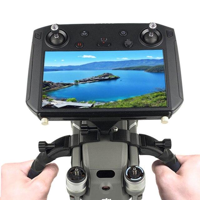 Mavic Kit de soporte de sujeción doble para Dron, estabilizadores de reajuste de cardán para Control remoto con pantalla para DJI MAVIC 2 PRO/ZOOM