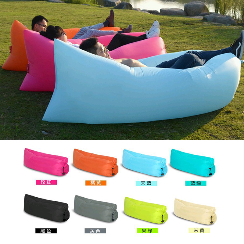 reviews on air sofa bed orange contemporary beach portable outdoor furniture inflatable ...