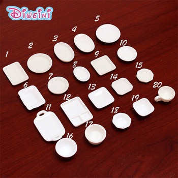 10pcs White plate Dishes Simulation Plates Miniature Pretend play Kitchen Toys Dinner Tableware Doll House Accessories Kids gift 10pcs white plate dishes simulation plates miniature pretend play kitchen toys dinner tableware doll house accessories kids gift