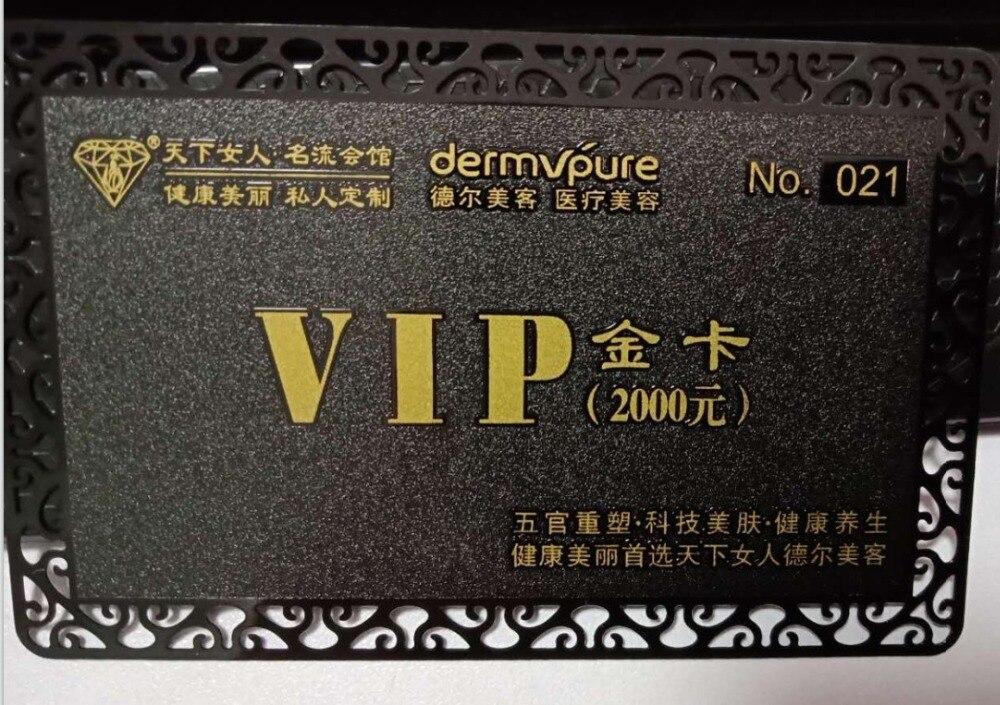 Us 110 0 Benutzerdefinierte Metall Visitenkarten Und Eloxiertem Aluminium Karte Gravierte Visitenkarte In Ic Id Karte Aus Sicherheit Und Schutz Bei