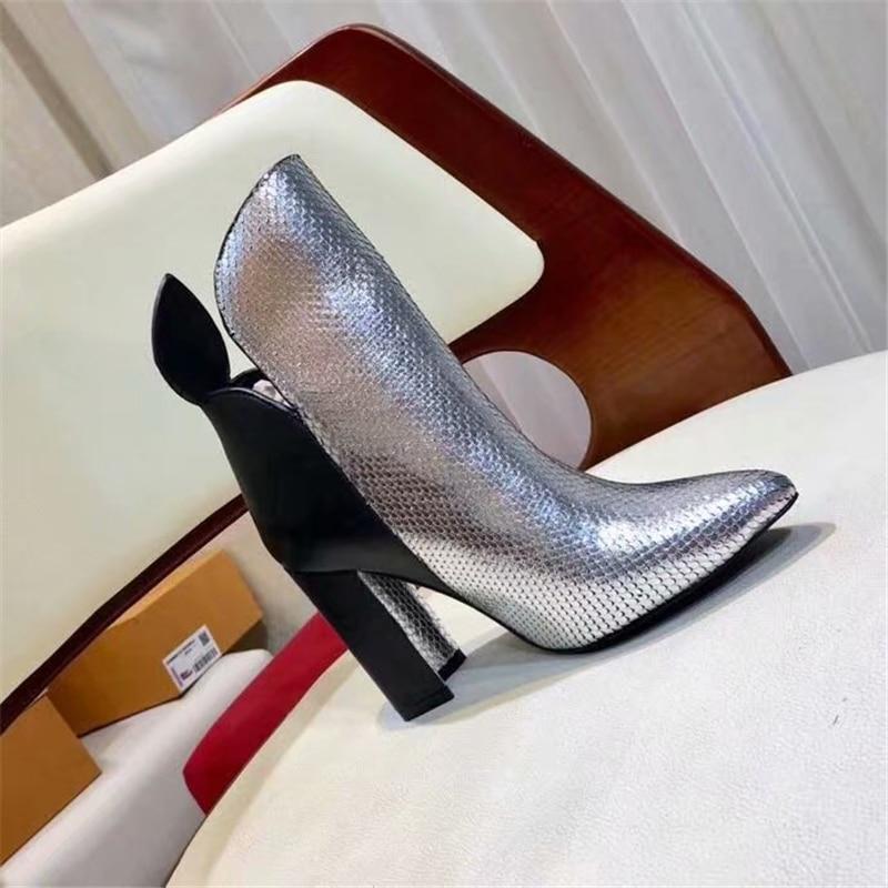 as Luxe Femme Hauts As Courtes Talons Show Véritable De Chaussures Femmes Nouvelle Zip Bottes Cheville Daim Show À En Marque Cuir qAnBp