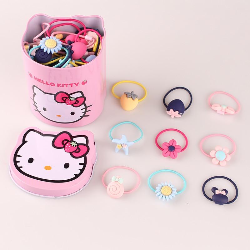 WHTLY Nowe słodkie dziecięce gumowe akcesoria do włosów Baby Sun - Odzież dla niemowląt - Zdjęcie 6
