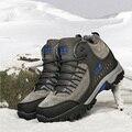 Tamaño grande 39-48 de Los Hombres Botas de Invierno 2016 Nueva Marca Corto Botas de Nieve de la felpa Mantener Caliente Zapatos A Prueba de agua Botas de Goma de Los Hombres Hombre