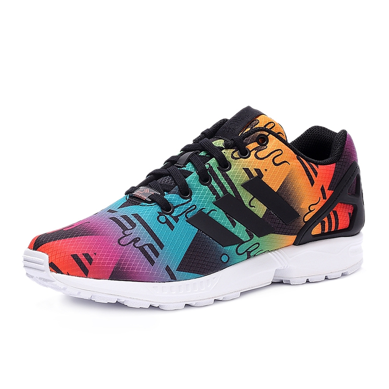Original New Arrival  Adidas Originals ZX FLUX Unisex's  Skateboarding Shoes Sneakers
