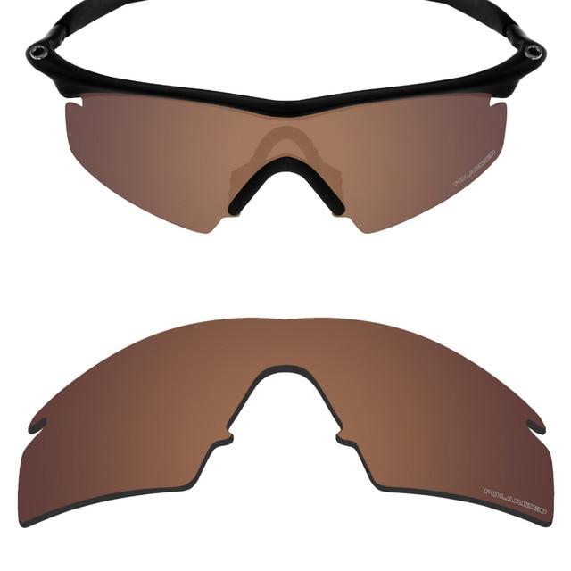 68784c13a7 Mryok + polarizadas resistir mar reemplazo Objetivos para Oakley M Marcos  huelga Gafas de sol bronce