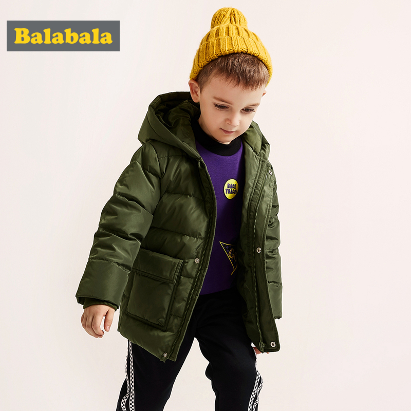 Balabala Toddler Boy Lighweight Down Jacket with Applique Children Kid Hooded Puffer Jacket with Zip Polyester Lined Ribbed CuffBalabala Toddler Boy Lighweight Down Jacket with Applique Children Kid Hooded Puffer Jacket with Zip Polyester Lined Ribbed Cuff