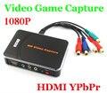 EZCAP 1080 P de Captura de Juego de Captura de Vídeo HD HDMI YPbPr Grabadora de Caja en el disco usb con software de edición para xbox one/360 para ps3