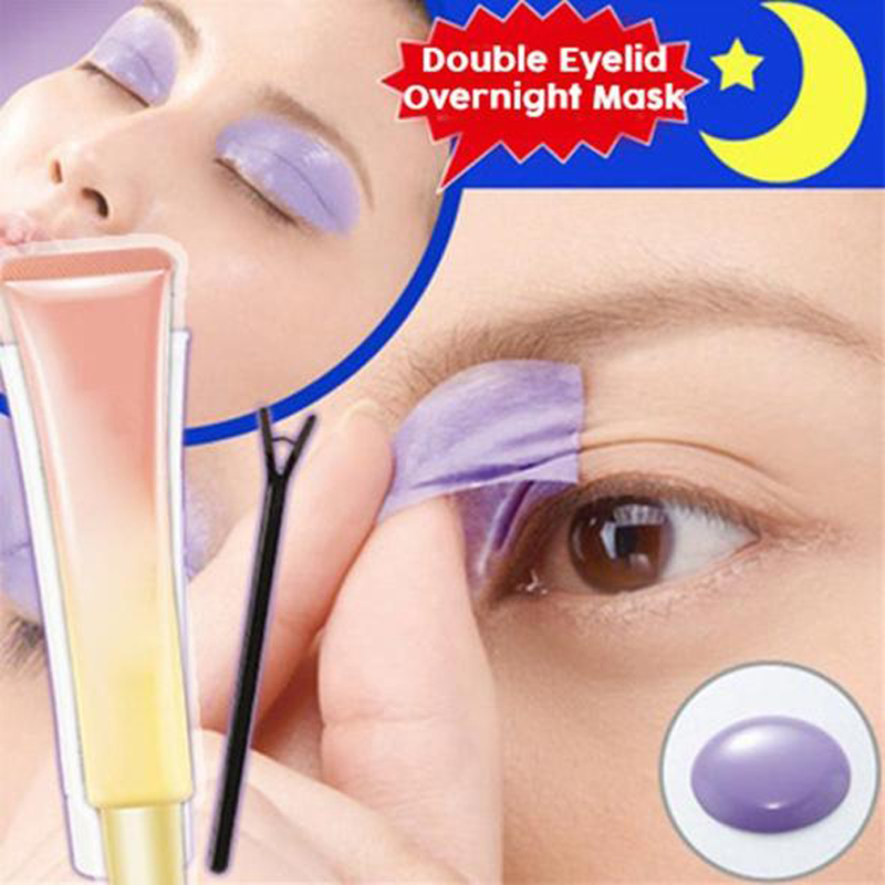 Double Eyelid Overnight Mask Spread The Cream Over Your Eyelid Double Eyelid Styling Cream Adhere The Patch