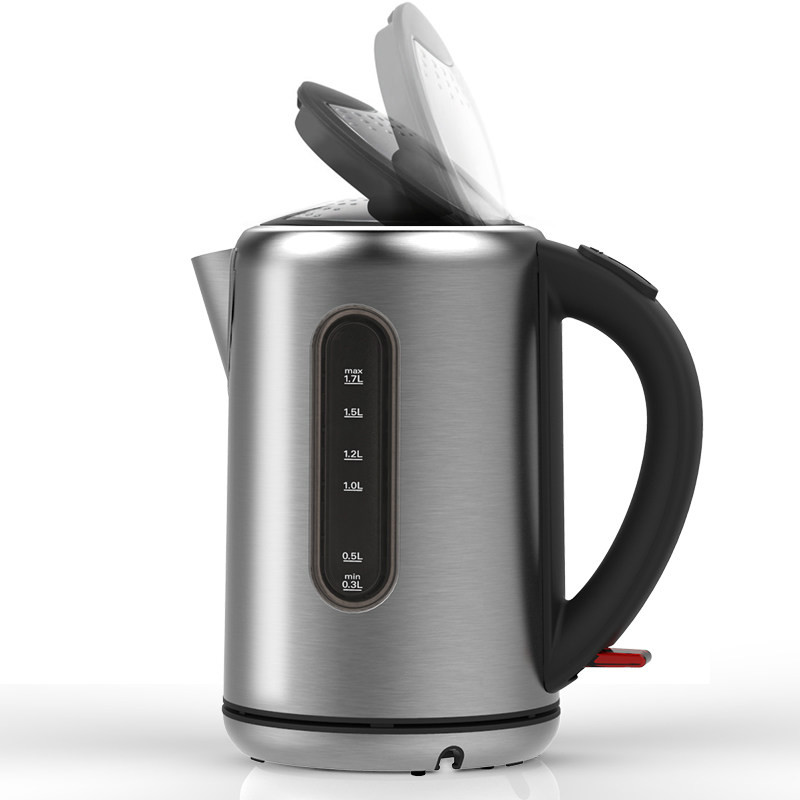 Electric kettle 304 stainless steel food grade electric capacity home automatic power  Safety Auto-Off Function free shipping automatic electric food grade 304 stainless steel electric kettle hot insulation automatic prevent parch