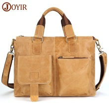 hot deal buy men crazy horse leather handbags genuine leather messenger bags shoulder bags casual male man briefcases laptop crossbody bags