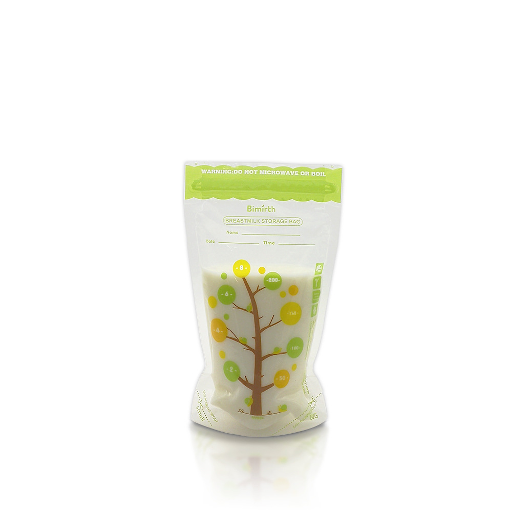 200ml * 112Piece Skladištenje hrane za bebe BPA Besplatne vrećice - Hraniti - Foto 2